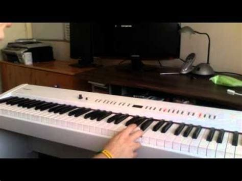 tutorial piano riders on the storm riders on the storm piano tutorial part 1 youtube