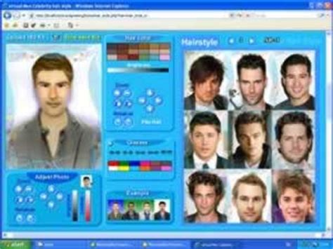 mans virtual hairstyles using my photo hairstyle for men and try on virtual hairstyle