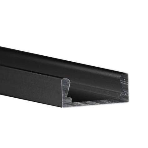 led light channel klus b1888k7 3 28 ft black led light channel