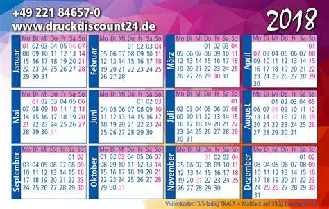 Kalender 2018 A4 Format Kalender 2018 Drucken Kalender Druck 2018
