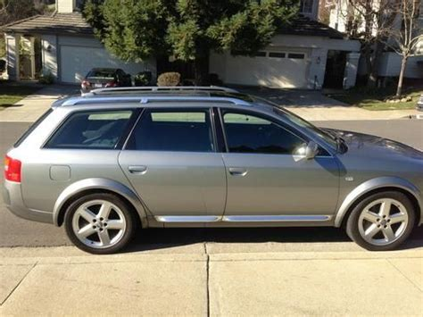 audi allroad upgrades sell used mint 2005 audi allroad 4 2 v8 tons of svc