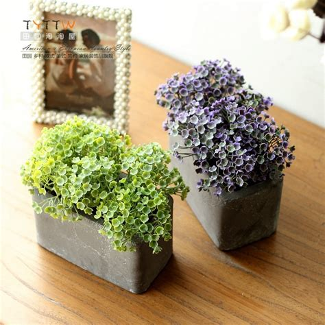Decorative Plant Pots by Zakka Style Floral Fashion Korean Small Floral Decorative