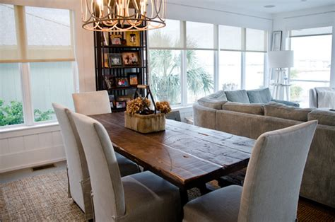 beachy dining room tables reclaimed dining table oba project style dining