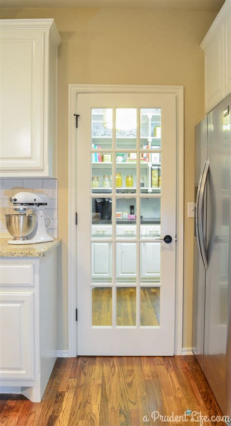 The Prudent Pantry by Organized Pantry Reveal One Room Challenge A Prudent