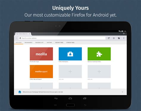 browser android firefox browser for android android apps on play