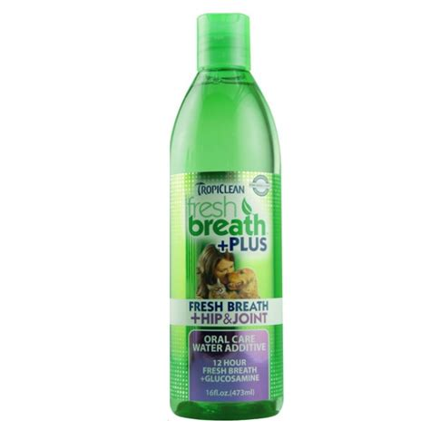 water additive for dogs tropiclean fresh breath water additive plus hip joint for dogs