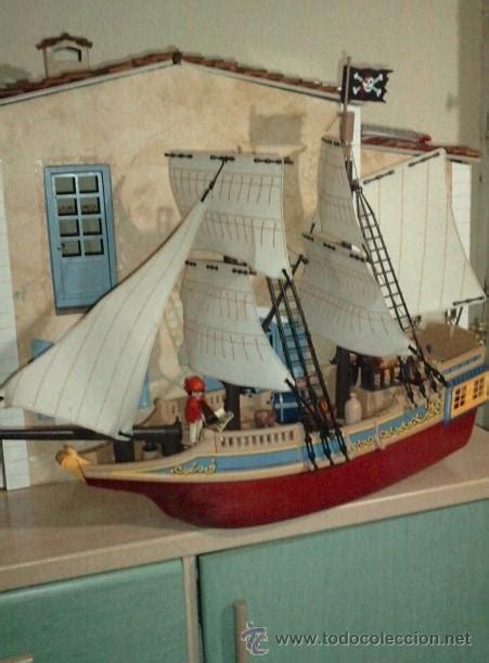barco pirata grande barco pirata camuflaje de playmobil ref 4290 el comprar