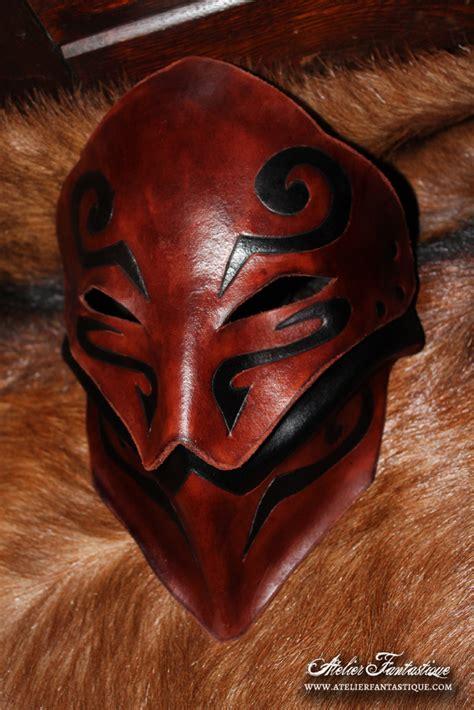 leather mask leather mask orounn by atelierfantastique on deviantart