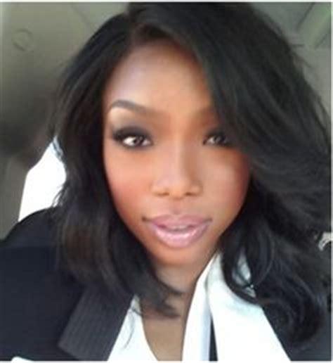 Brandy The Game Hair Cut | brandy norwood medium wavy cut hairstyle zntent com
