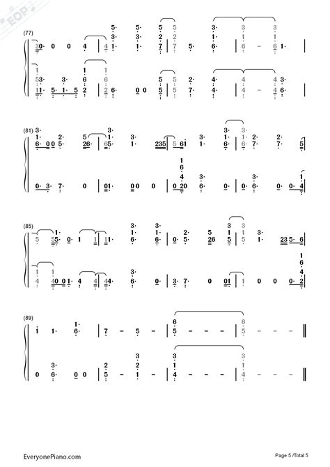 sam smith burning chords burning sam smith numbered musical notation preview 5
