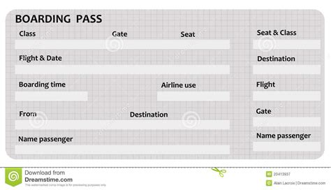 blank boarding pass template free myideasbedroom com
