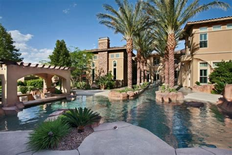 house with river running through it unbelievable las vegas house a river runs through it