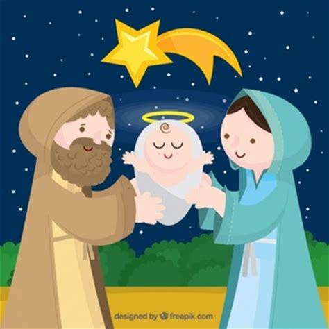 imagenes de nacimiento de jesus animadas navidad pesebre descargar vectores gratis