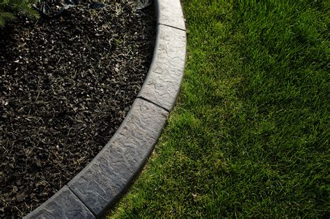 concrete landscape borders concrete curbing calgary and