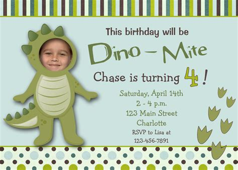 birthday invites the best choice dinosaur birthday