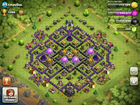 coc th9 base layout coc th9 farming base quotes