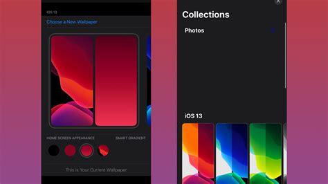 leaked ios  screenshot shows  wallpaper settings