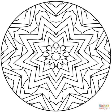 star mandala coloring pages star mandala coloring page free printable coloring pages