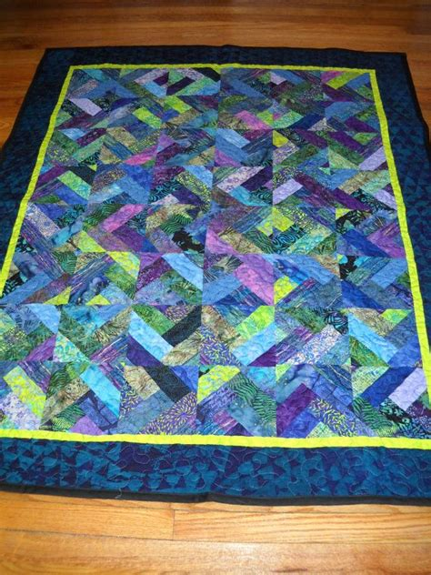 Blue And Green Quilt Rhapsody Blue Green Quilt Coverlet Bedspread