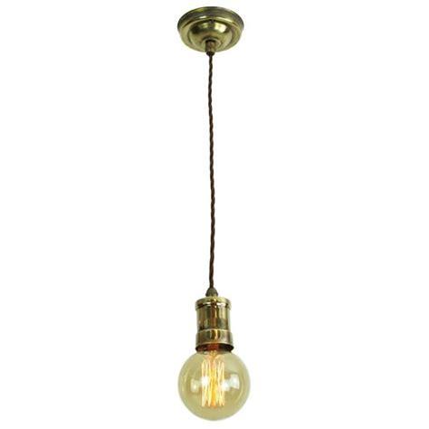 Pendant Light Fittings Uk Bare Bulb Light Fittings On Rich Golden Tones Made From Solid Brass