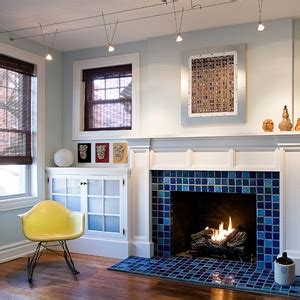 blue fireplace 23 best images about den fireplace on blue