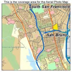 san bruno california map aerial photography map of san bruno ca california