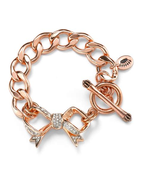couture bow starter charm bracelet bloomingdale s