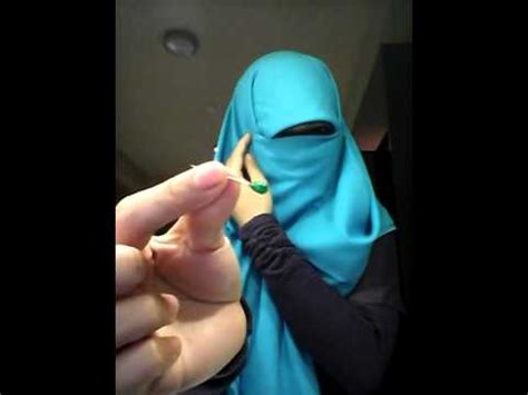 niqab tutorial 2014 p 252 rda viel niqab tutorial easy simple youtube