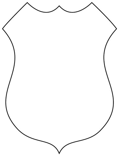 fireman badge coloring pages