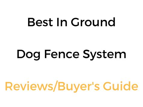 best in ground fence best in ground invisible fence system in 2018 19 reviews buyer s guide