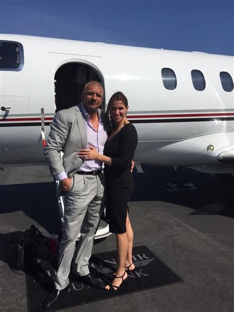 wwe wrapping up european tour next weeks tv tapings uk media stephanie mcmahon and triple h at the airport stephanie