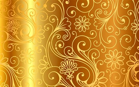 gold pattern image golden pattern vintage gradient vector background gold