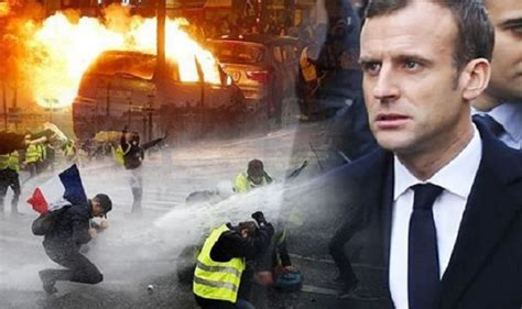 emmanuel macron yellow vests france delays fuel tax increase to calm yellow vest protests