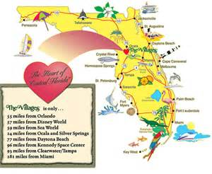 map of the villages in the villages florida about the villages parents home