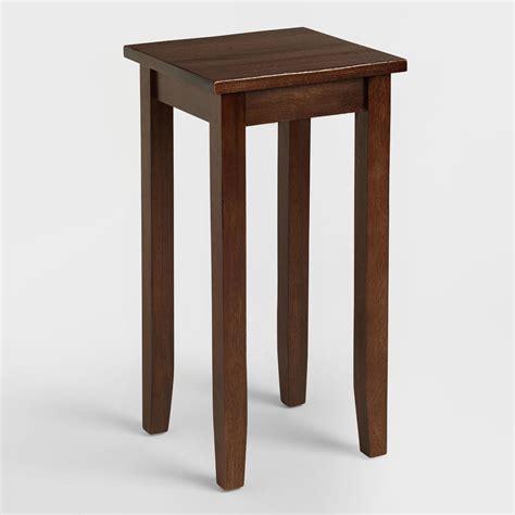 small table small mahogany accent table market
