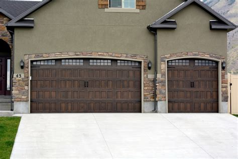 designer garage doors gallery overhead door of utah valley