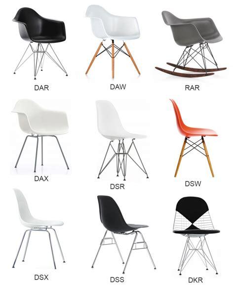 eames chaises chaises eames pas cher