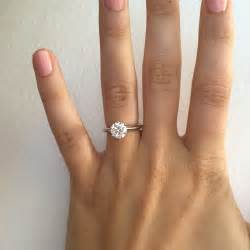 5 Rings For Your Pretty Fingers by Show Me Engagement Rings On 5 5 Finger Weddingbee