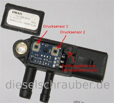 Audi A4 Differenzdrucksensor by 2 0 Tdi Differenzdruckgeber G450 Defekt Gel 246 St