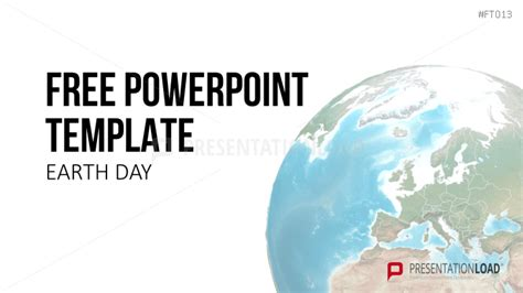 powerpoint templates free earth presentationload free powerpoint template earth day