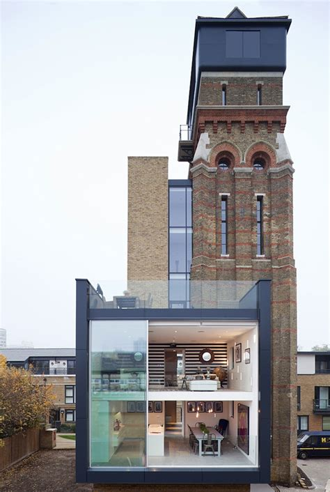 century water tower turned  modern home