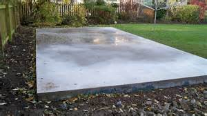 concrete base less than 4m shedsfirst