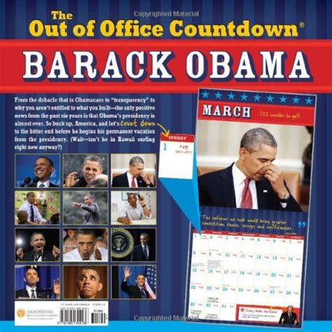 Obama Countdown Calendar 2015 Barack Obama Out Of Office Calendar Countdown Wall