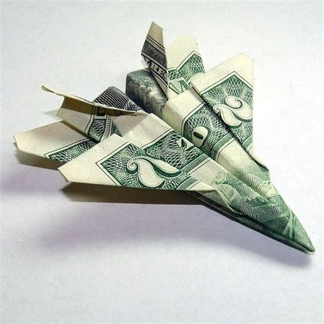 Dollar Origami Plane - airplane money origami diy other ideas