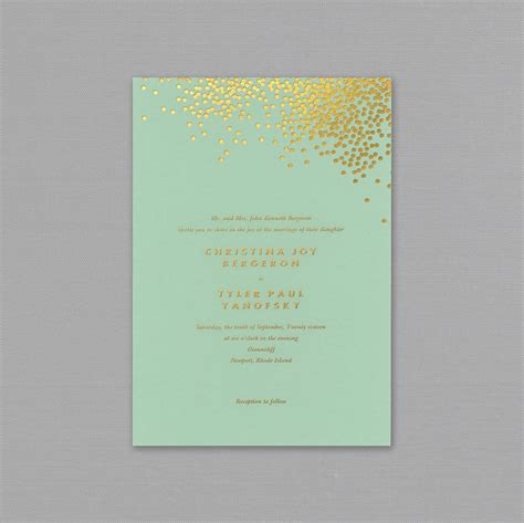 Mint And Gold Wedding Invitations mint and gold wedding invitations mint and gold wedding