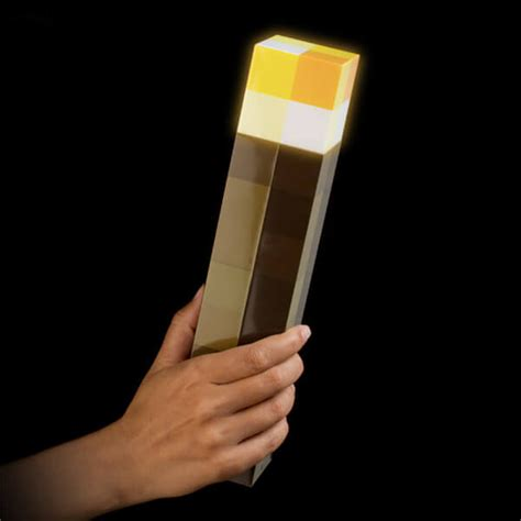 light up connecting toys light up minecraft torch 28cm led minecraft light up torch