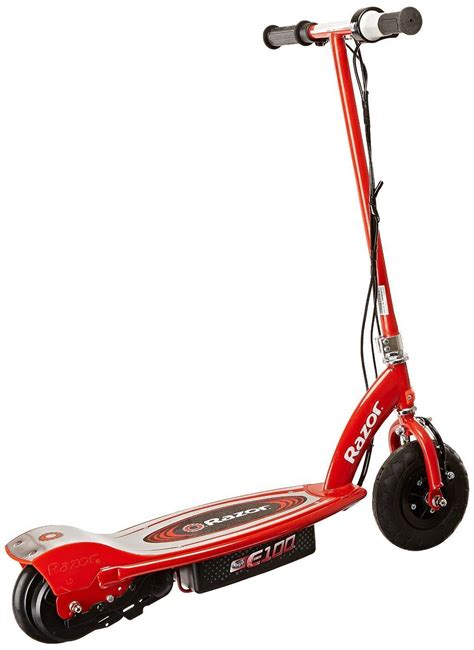 razor electric scooter with seat e100 razor e100 electric scooter 24 volt recharge battery steel