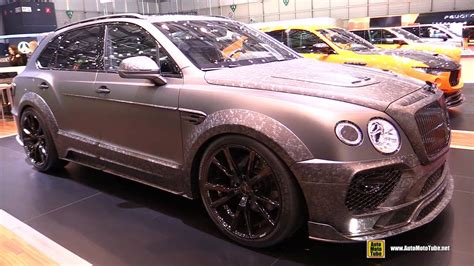 mansory bentley interior 2017 bentley bentayga mansory black edition exterior