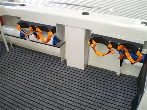 scuba tank holders for boat sailfish popular options webbe marine