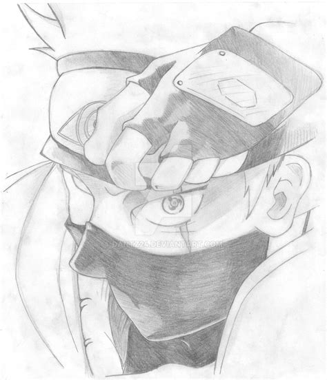 Drawing Kakashi by Draw Kakashi By Dantz24 On Deviantart